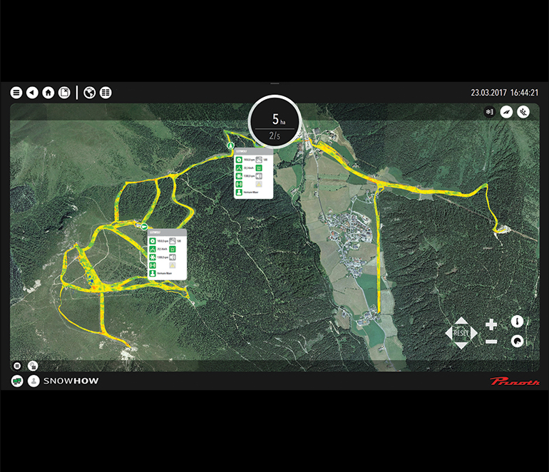 mar19 groomers 2019 Prinoth SNOW HOW map