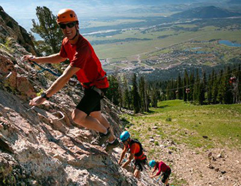Jackson Hole Via Ferrata