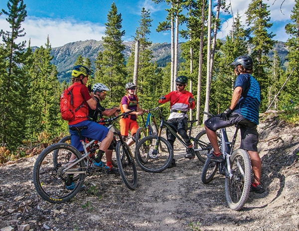 : Big Sky boasts nine cross-country trails