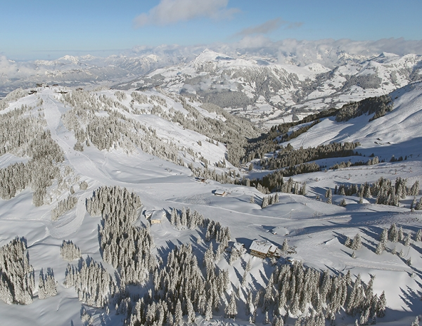 Kitzbühel, Austria, is one of Europe's largest resorts—no matter how you measure it.