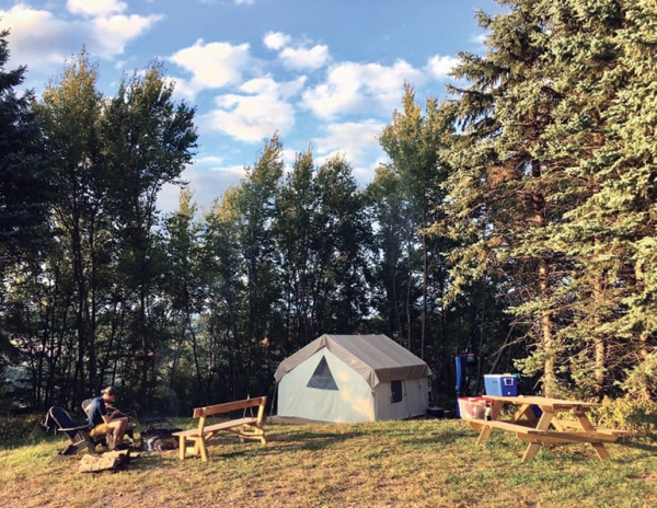 "Glamping at Blue Mountain, Pa., was ""through the roof"" in 2020."