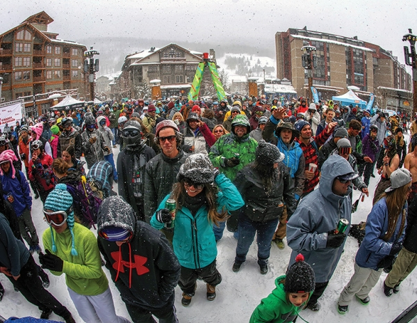 Keeping the crowd happy on peak days is key to increased guest loyalty. Shown here: the throng at Copper Mountain, Colo.'s Sunsation festival, a weekend of live music and competitions.