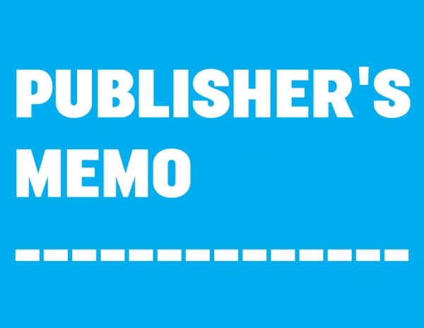 Publisher's Memo :: September 2019