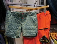 MARMOT CHEEKY PANTS: Women want more technical elements in their outwear, as well as comfort and functionality. Marmot's response: the Gore-Tex Performance three-layer Cheeky Pant. Removable, insulated shorts help ladies stay perfectly warm when skiing and riding, and look stylish during après. Technical elements and details include Recco avalanche rescue reflector, leg vents, water-resistant zippers, adjustable snap closures, and both waist and internal gaiters with gripper elastic. www.marmot.com